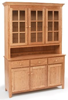 Buffet/hutch from Classic Oak  LOVE IT!  Looking for one to put in my other dining room