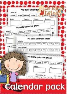 FREE Daily Calendar Printable