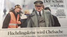 Tagesspiegel-Titel der Spätausgabe am 7. Oktober 2015.