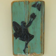 Hand-Made Fairy Key Holder or Jewelry Holder Wall Hanging - $19.95