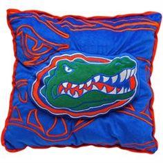 Florida Gators 3D Logo Pillow