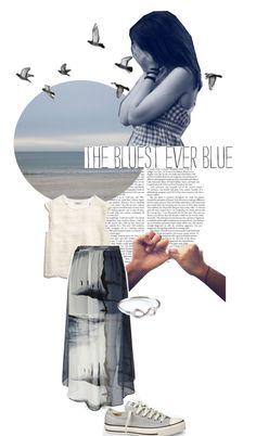 """feeling blue"" by matilda-loader ❤ liked on Polyvore"