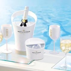 Moet Imperial Ice - Moet & Chandon has just launched its newest venture, Moet Imperial Ice. This champagne is meant to be served over ice--a most untraditional way to . Moet Chandon, Absolut Vodka, Smirnoff, Bacardi, Pinot Noir, Champagne Moet, Champagne Quotes, Moet Imperial, Malibu Rum