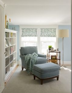 Great idea for that room inside our masterbedroom..peaceful reading nook