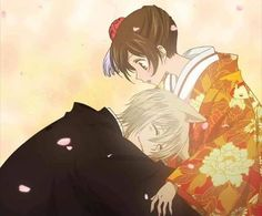 This is so cute!!! Tomoe becoming human and getting married to Nanami all in the same day!!!