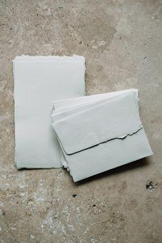 Clay Handmade Paper Stationary Set   Signora e Mare