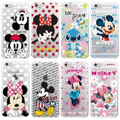 Find More Phone Bags & Cases Information about Minnie Mickey Cartoon  Stitch Piglet Daisy Pooh Bear Characters Soft Phone case Cover For iPhone 4 5 6 7 S Plus SE 5C Samsung,High Quality phone hard case,China case cell phone Suppliers, Cheap phone sock case from World Design Phone Accessories on Aliexpress.com