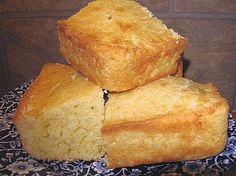 Proja is served warm with cracklings, yogurt, soft cheese, sauerkraut dishes, kajmak or sarma. serbian cornbread 375° 9x13 pan with cooking spray 5 c cornmeal  1 t salt 8 oz (2 sticks) softened butter 3 large beaten eggs 2 cups milk   Mix cornmeal with salt butter eggs & 1 cup milk  thoroughly mixed 5 minutes Add remaining 1 cup milk mix again for 5 minutes Transfer to prepared pan bake 50 min until golden  Cut into squares but leave in pan & bake additional 5-10 minutes