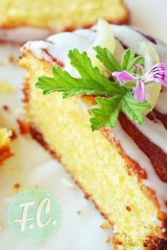 Κέικ Λεμονιού με Γλάσο Greek Sweets, Greek Desserts, Lime Cake, Fresh Cream, Lemon Lime, Cakes And More, Vanilla Cake, Sweet Recipes, Cheesecake