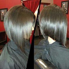 Angular Bob Hairstyles