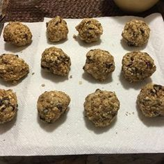 No-Bake Oatmeal Protein Bites - Allrecipes.com