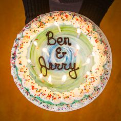 Happy birthday to our co-founders, Jerry and Ben! Ben's name may come first, but Jerry was born 4 days before him.