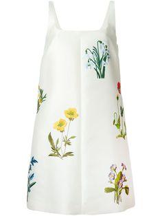 Stella McCartney Vestido com decote quadrado
