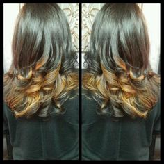 #SalonDeDawn #ombre
