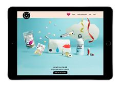 Rethink Breast Cancer Give-A-Care Collection — The Dieline   Packaging & Branding Design & Innovation News