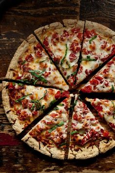 Elizabeth Hasselbeck's Pizza (gluten free)