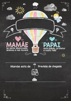 Rafael e Helena Scrapbook Bebe, Baby Girl Clipart, Baby Room, Boy Or Girl, Diy And Crafts, Baby Kids, Invitations, Lettering, Decoration
