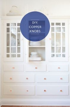 Customize It … DIY Copper Knobs