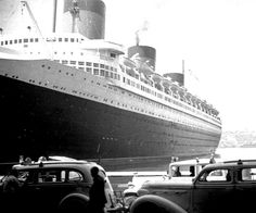 It was #otd 75 years ago that the  #SSNormandie capsized in NY Harbor. See amazing rare footage: