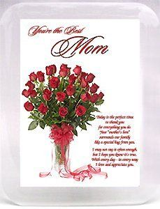 """Best Mom Ever"""" Birthday or Mother's Day Gift - Red Roses & Loving ..."""