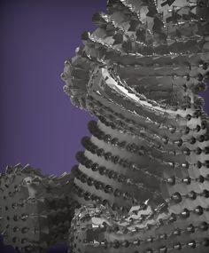 """三寶熊-3.非禮""""勿言""""熊.  雕塑:村田(Tsuen_Tien) 羅芙設計公司(ROIFDESIGN Co., Ltd.)"""