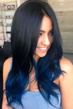 African Women Hairstyles Blue black hair color ideas you can create using blue black dye and all the tips to make it last as long as possible! Blue Black Hair Color, Cool Hair Color, Black Ombre, Black And Blue, Black Blue Ombre Hair, Hair Color Ideas For Black Hair, Dark Blue Hair Dye, Green Hair, Purple Hair