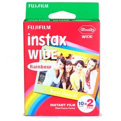 Find More Film Information about Genuine Fujifilm Instax Wide Film Rainbow 20 Sheets Photo Paper For Fuji Polaroid Instant Camera 300 / 200 / 210 / 100 / 500AF,High Quality rainbow pigment,China rainbow paper industries Suppliers, Cheap rainbow headband from Photography store on Aliexpress.com