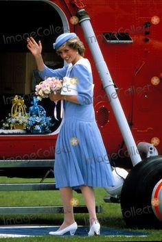 Princess Diana Photo by Jim Bennett/alpha/Globe Photos,inc. Princessdianaretro