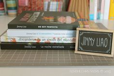 Entre libros… con Jimmy Liao