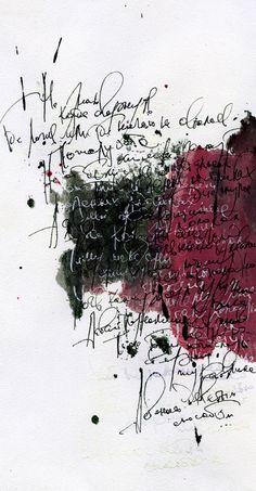 nothing's right by ~igaros on deviantART Foto Gif, Guache, Encaustic Art, Letter Art, Calligraphy Art, Art Journal Inspiration, Art Plastique, Urban Art, Word Art