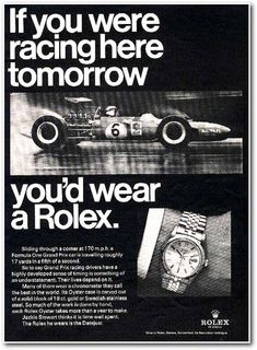 """1960s was definitely one of the eras in which breakthrough improvements from Rolex SA made historical milestones. Communicating through a series of """"Helvetica"""" font developed by fellow Swiss typeface designers Max Diedinger with Eduard Hoffmann, Rolex was one of the worldwide known companies to"""