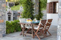 Aegean View Villa in Pilio-Greece  Enjoy your Breakfast in the Garden  Book your Holidays Now !!!