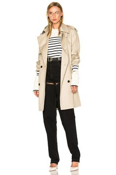 Y/PROJECT Trench Coat. #y/project #cloth #