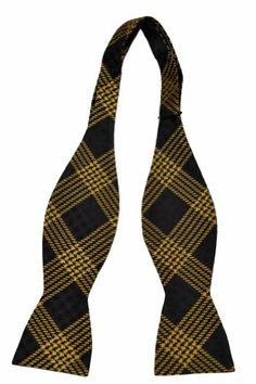 Cotton Necktie - Purple plaid with beige and black crossover - Notch OLAMIDE Notch QdiCoYv6