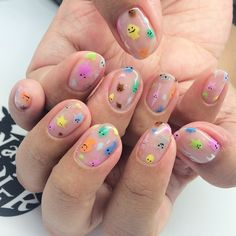 April 2015 – The Nail Artelier Aycrlic Nails, Swag Nails, Hair And Nails, Kawaii Nails, Nagellack Trends, Fire Nails, Funky Nails, Funky Nail Art, Minimalist Nails