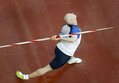 Javelin Throw    Teemu Wirkkala of Finland competes in men's javelin throw qualifying event at the Beijing 2008 Olympic Games