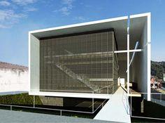 Modern Architecture Box House by Yuri Vita Architect Brazil