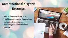 Types Of Resumes, Functional Resume, Resume Format, Job Resume Format