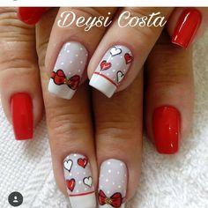 """1,009 Likes, 3 Comments - Amantes de Unhas e Feminices (@arte_na_unha) on Instagram: """"Unhas enviadas pela seguidora @deysiicosta . #amei #linda #decoradas #nailsart #amorartenaunha…"""""""