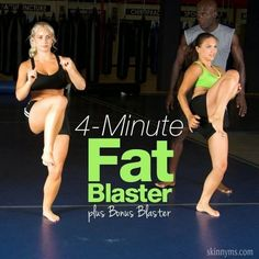 4 Minute Fat Blaster Workouts | Fit Villas
