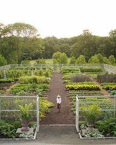 Bedford Expansive Vegetable Garden
