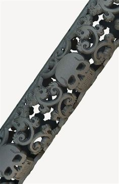 Pictured in Cerakote Tungston (H-237) Nothing screams out to the world you're a tough bad-ass chick like a vine of skulls! That's right, put the fear of the sweet bad-ass boss you are into your enemie