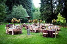 Brides: A Colorful Fall Wedding at Nestldown in Los Gatos, California