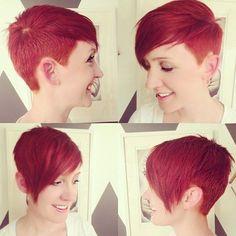 Cortes de pelo corto asimétricos guapos para la mujer de moda!