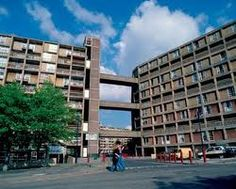 Parkhill! Sheffield via Google. Built 1957-1961 and listed in 1998, with Grade II status, Park Hill Flats with their 'streets in the sky' are described as a 'Modernist icon'. Brutalist architecture they are desliked by some. Park Hill is on the site of part of Sheffield Manor's 16th century, 2,500 acre deer park. This became dotted with farms and mineral works in the 18th century, followed by notorious 19th century slums which were cleared to erect PH