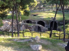 Izmir, Turkey - The acropolis of the city, this is the site of ancient Smyrna, one of the 7 churches specifically addressed in Revelation 2 & 3.