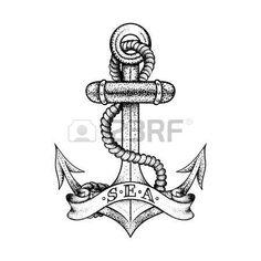 Image result for retro nautical tattoos