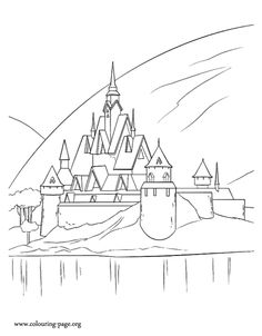 frozen color book pages Frozen coloring pages coloring pages of