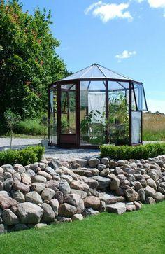 Glaspavillon mit Durchmesser 250 cm bis 900 cm Gazebo, Outdoor Structures, House Styles, Home, Pavilion, Round Round, Corning Glass, Lawn And Garden, Kiosk