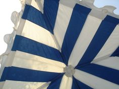 My favorite the blue & white canopy